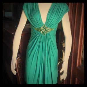 Sky Brand Green Embellished Dress M